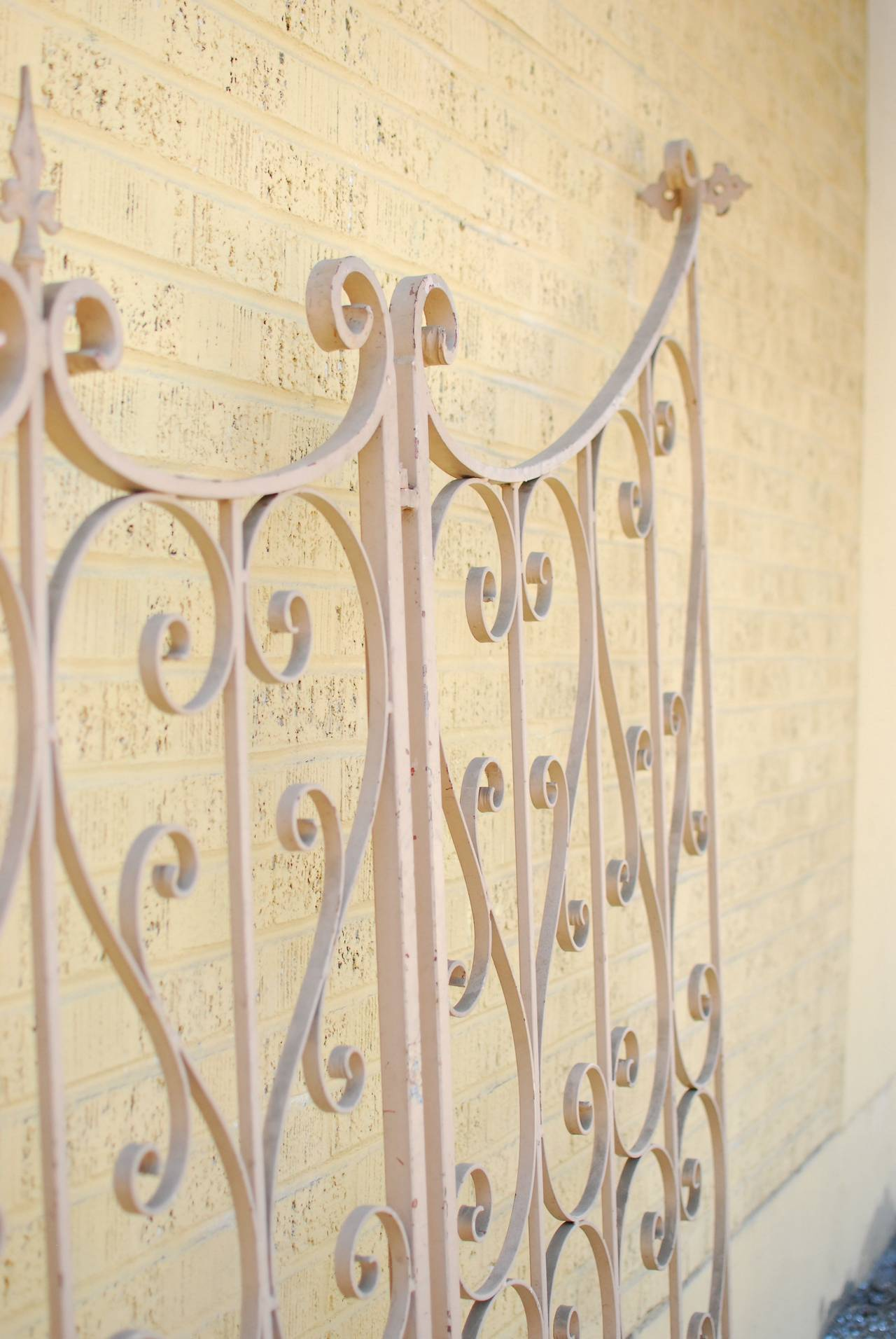 French Wrought Iron Garden Gate or Fence 8