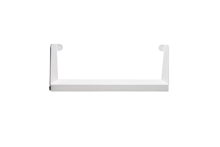 For Sale: White (Blanc) Aluminum Extra Large Sliding Double Shelf in by Sebastian Bergne and Tolix 2