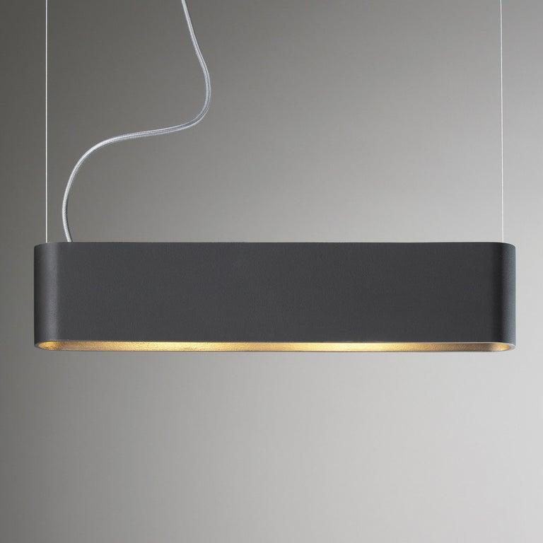 For Sale: Black (SO.SU.60.LED.AA ) Solo 60 Pendant Light by Jacco Maris
