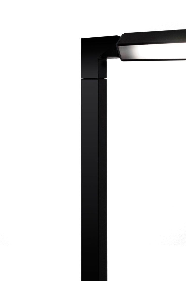 For Sale: Black Nemo Spigolo Floor LED 2700K Dimmable Lamp by Studiocharlie 2