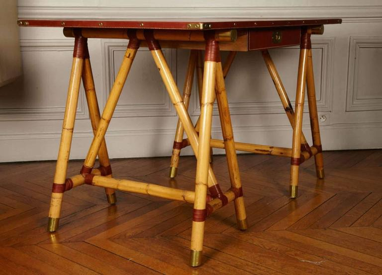 1950s Desk by Jacques Adnet For Sale 1