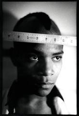 Photograph of Jean-Michel Basquiat, 1979