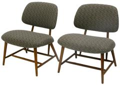 Pair of Mid-Century TV Chairs by Alf Svensson