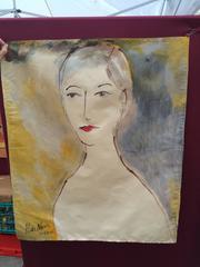 Painting by Hanneke De Neve