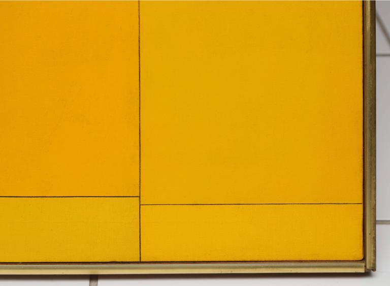 Atatapa 1 - Abstract Geometric Painting by Ludwig Sander
