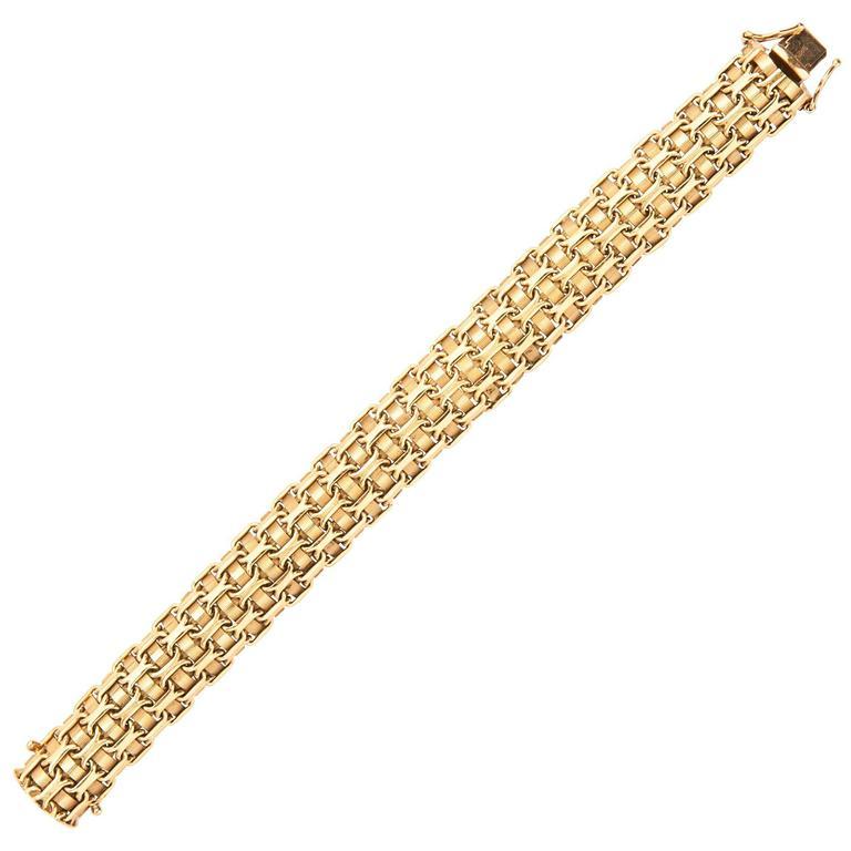 Italian Gold Bracelet  1