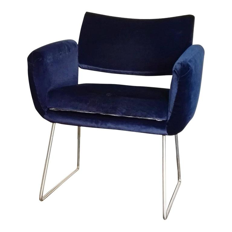 Pair of 760 Chairs by Joseph Andre Motte, France, 1957 In Good Condition For Sale In New York, NY