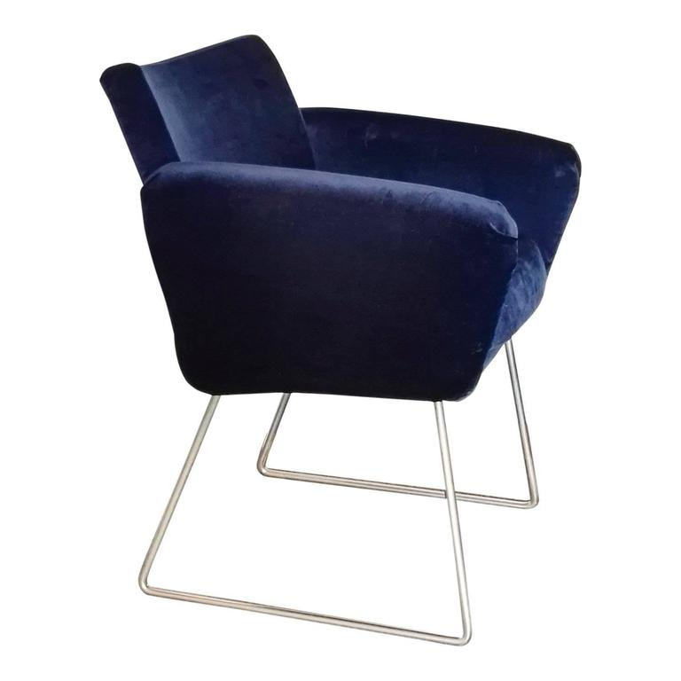French Pair of 760 Chairs by Joseph Andre Motte, France, 1957 For Sale