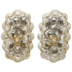 Helena Tynell/Limburg Bubble Glass Sconces, Two Pairs