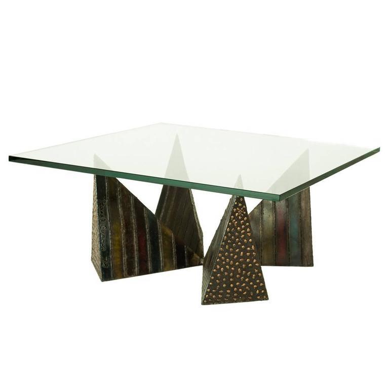 Paul Evans PE14-42 Pyramid Cocktail Table