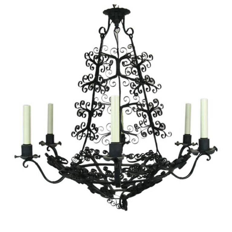 ON SALE Large Handmade Country French Chandelier