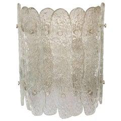 Vintage Venini Glass Sconce