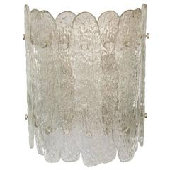 Vintage Venini Glass Sconce