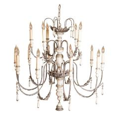 Venetian Fifteen-Light Chandelier