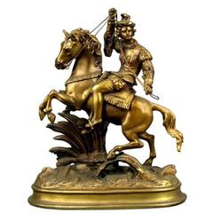 Man on Horseback Sculpture
