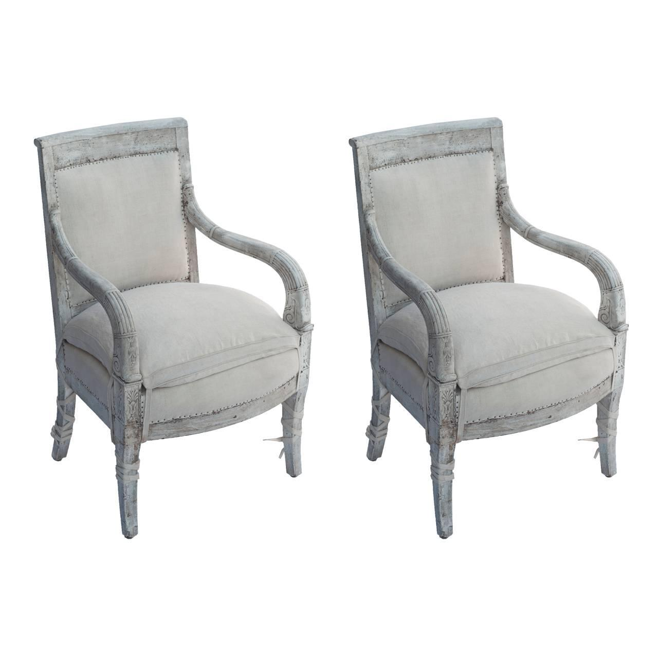 Restoration bergere set of fauteuils at 1stdibs - Fauteuil bergere moderne ...