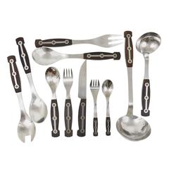 Comprehensive Set Amboss 1050 Flatware for 12 Persons, Austria,1950s