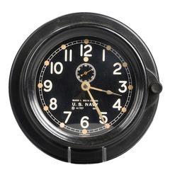 Chelsea U.S. Navy Clock, circa 1942