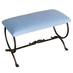 Spanish Wrought Iron Bench