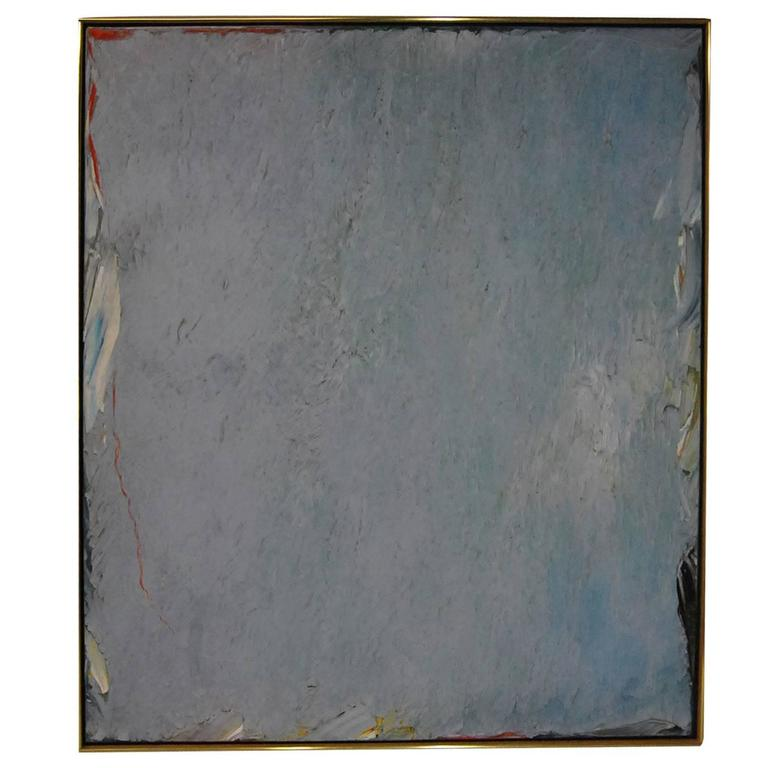 Large Abstract Painting by Stanley Boxer,  Weepedtendrilshoarsighings, 1977