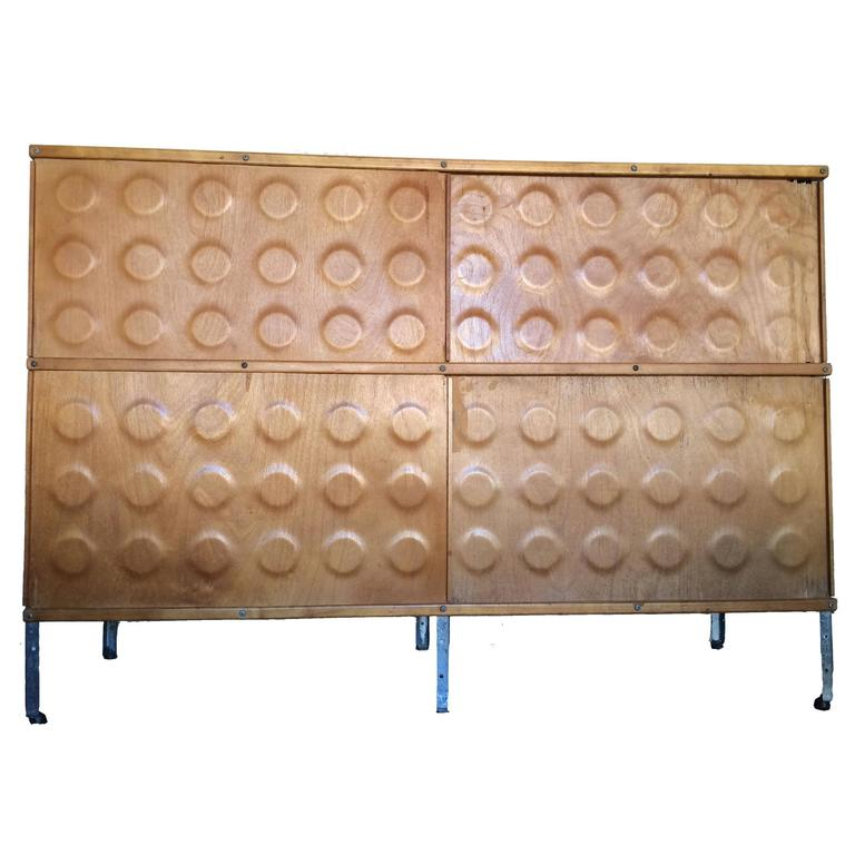 Early Herman Miller ESU, Eames Storage Unit, Designed by Charles and Ray Eames For Sale