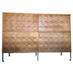 Early Herman Miller ESU, Eames Storage Unit, Designed by Charles and Ray Eames