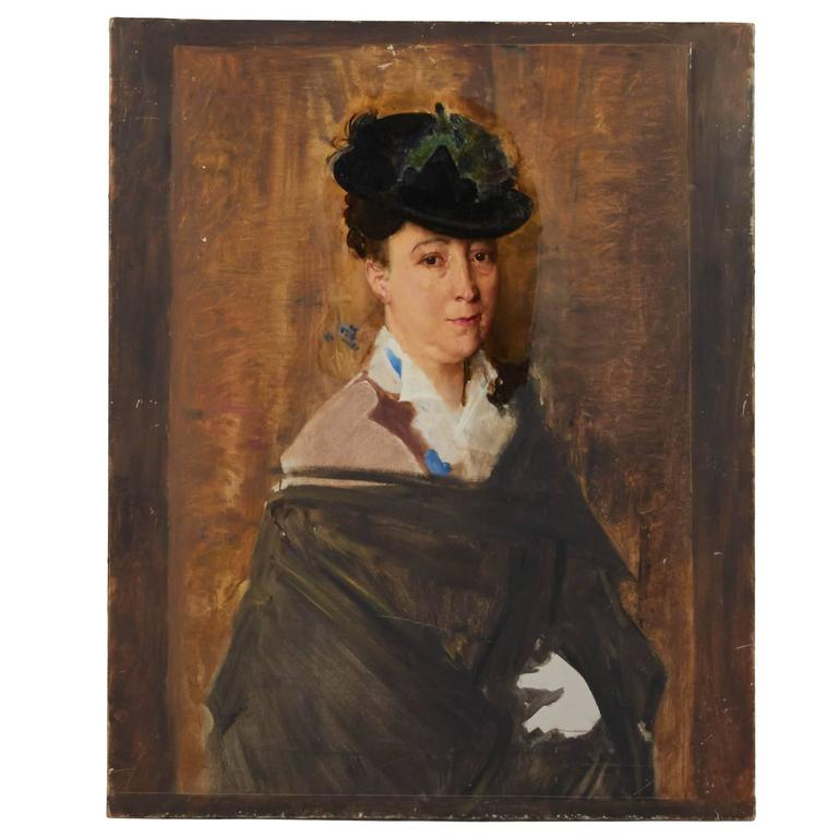 Untitled Portrait of a Woman For Sale