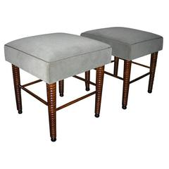 Two 1930s Stools by Jansen