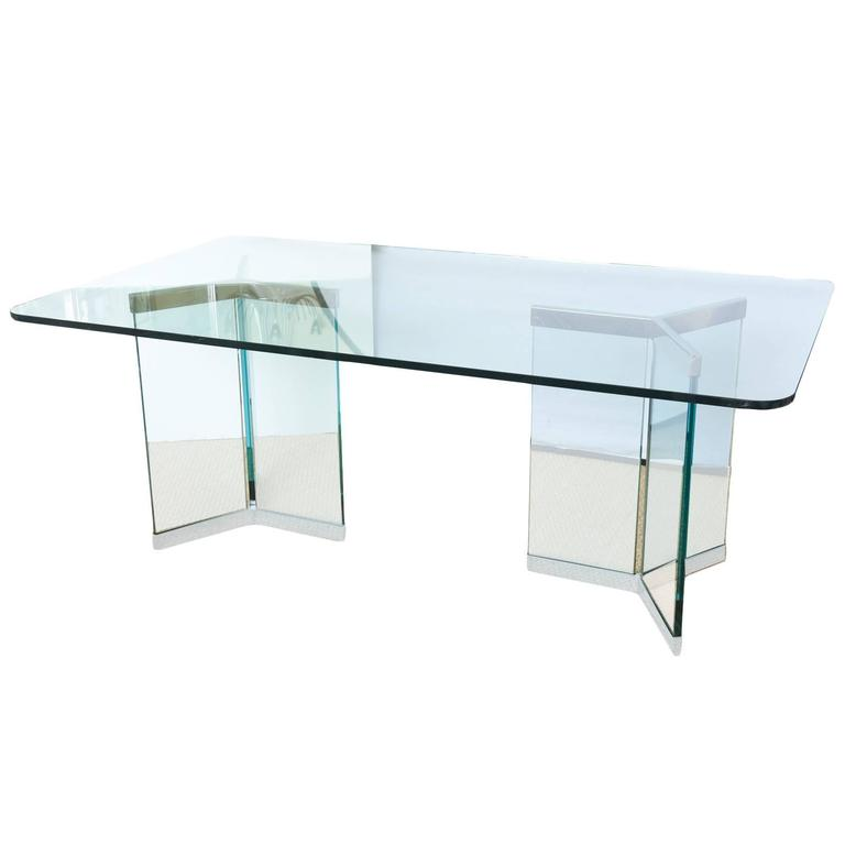 Leon Rosen for Pace Sculptural Dining Table