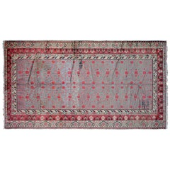 Antique Samarkand Rug, circa 1890