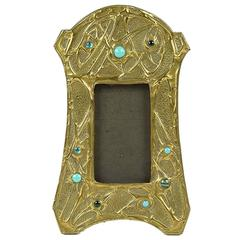 Art Nouveau Table Top Mirror or Frame by Alfred Daguet