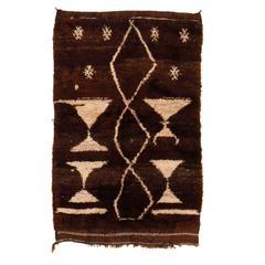 Mocha-Coloured Tulu Rug
