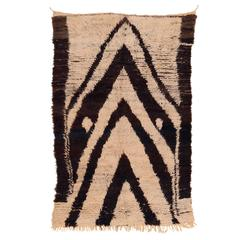 Dramatic Azilal Berber Rug with Stacked Niches