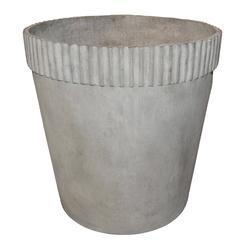 Mid-Century Modern Cast Fiber Cement Planter