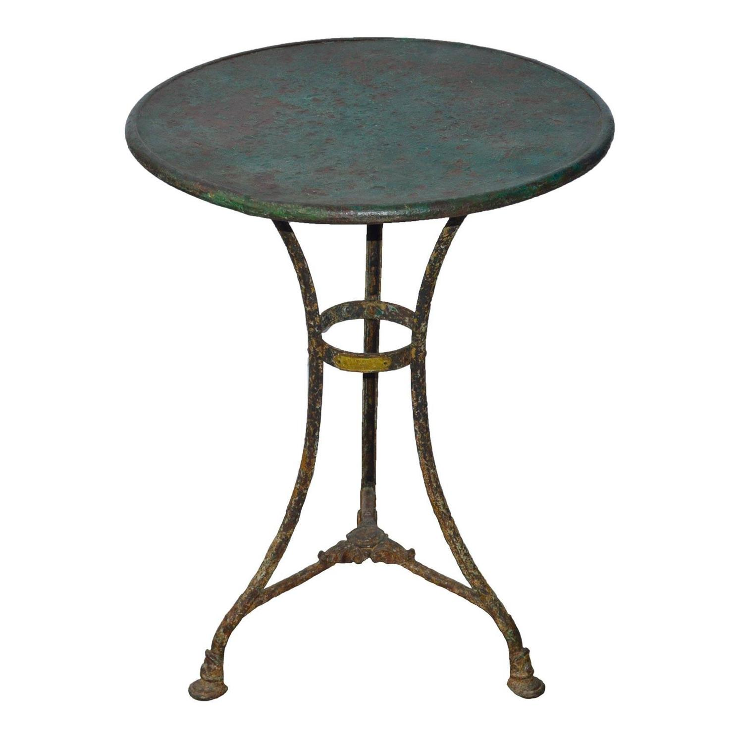 Rare Iron Gueridon From Arras Northern France For Sale At 1stdibs