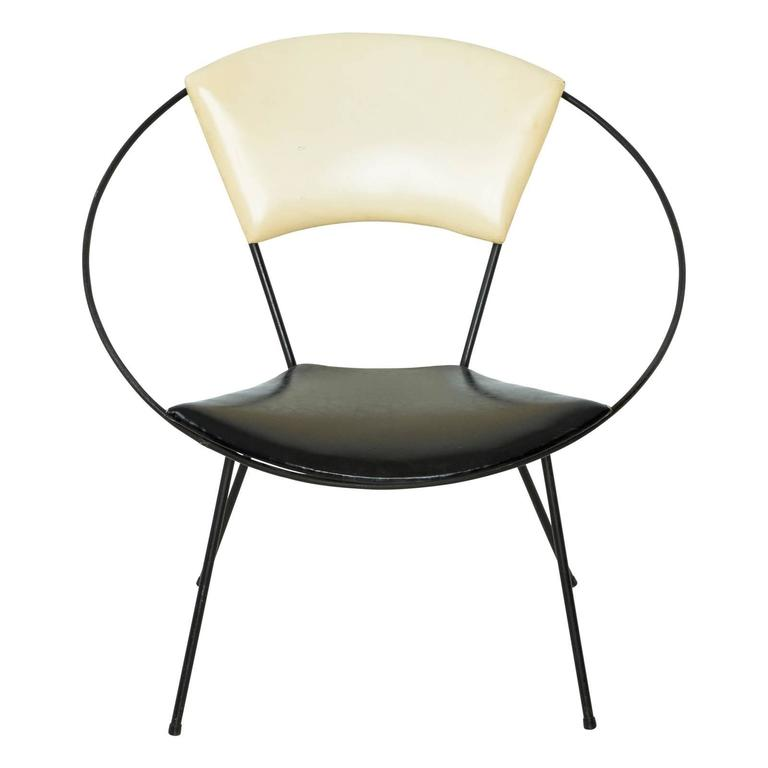 Mid Century Modern Orbit Ring Chair at 1stdibs