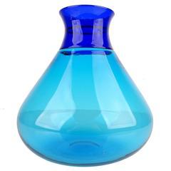 Venini Murano Glass Vase by Ludovico Diaz de Santillana