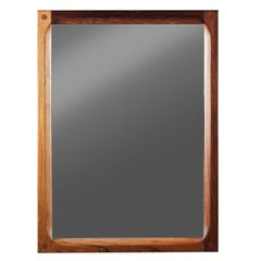 Danish Mirror in Rosewood by Aksel Kjersgaard