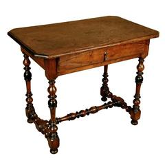 French 17th Century Louis XIII Period Side Table
