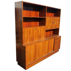 Rosewood Poul Hundevad Wall Unit for Jensen & Herning