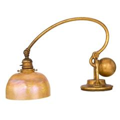 "Tiffany Studios New York ""Piano Counter Balance"" Desk Lamp"