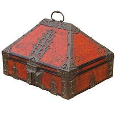 "Antique ""Malabar Box"", Kerala, 19th Century"
