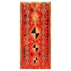 Large Vintage Moroccan Berber Wool Rug