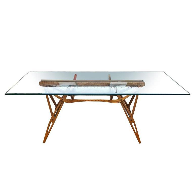 Reale Table Design Carlo Mollino Zanotta 1990 At 1stdibs