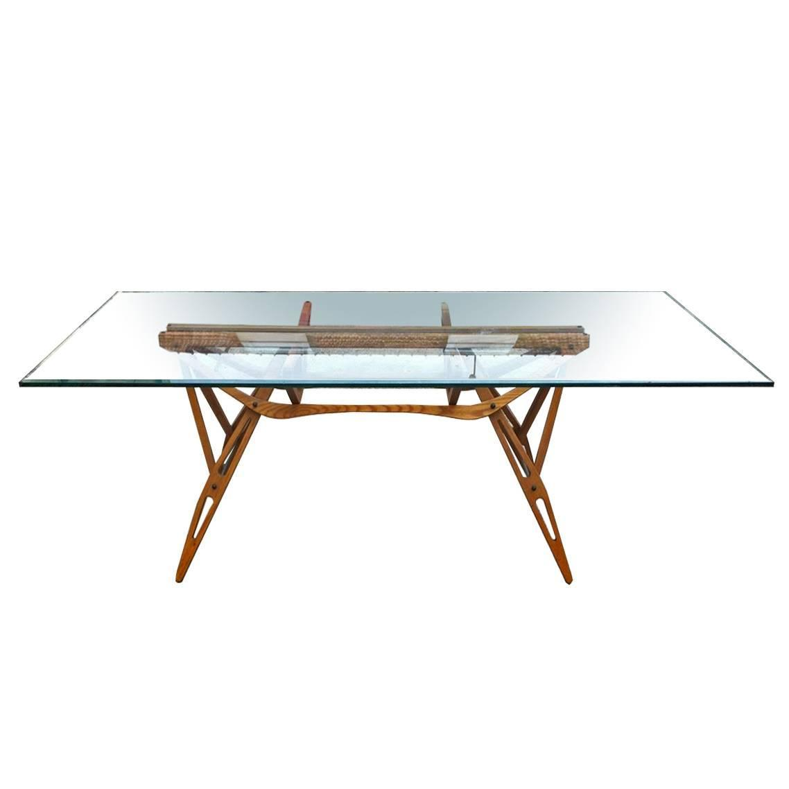 Reale table design carlo mollino zanotta 1990 at 1stdibs for Table zanotta