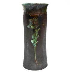 Evans Raku Ceramic Vase