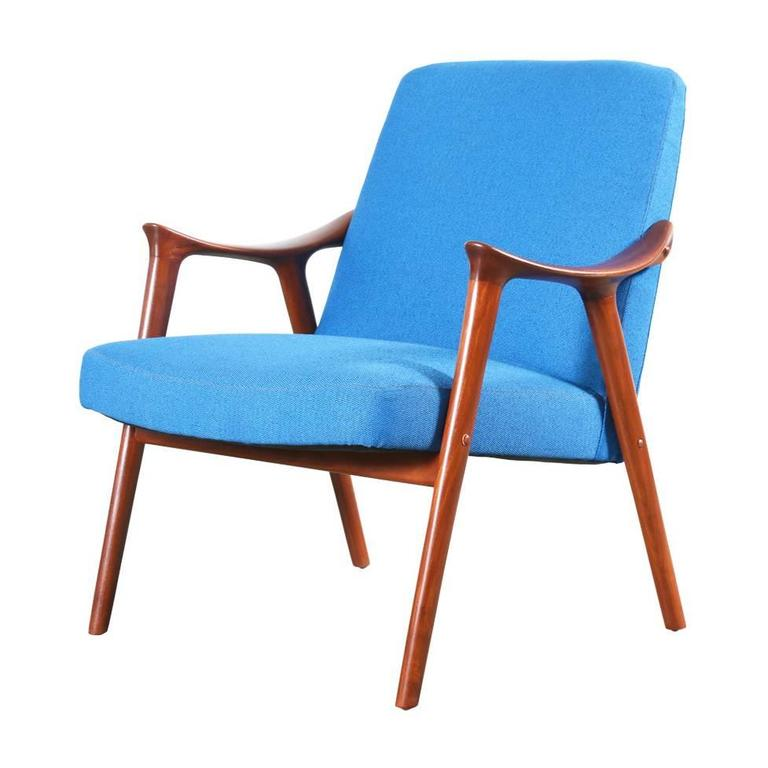 Rolf Rastad and Adolf Relling Lounge Chair for Lenestolfabrikk