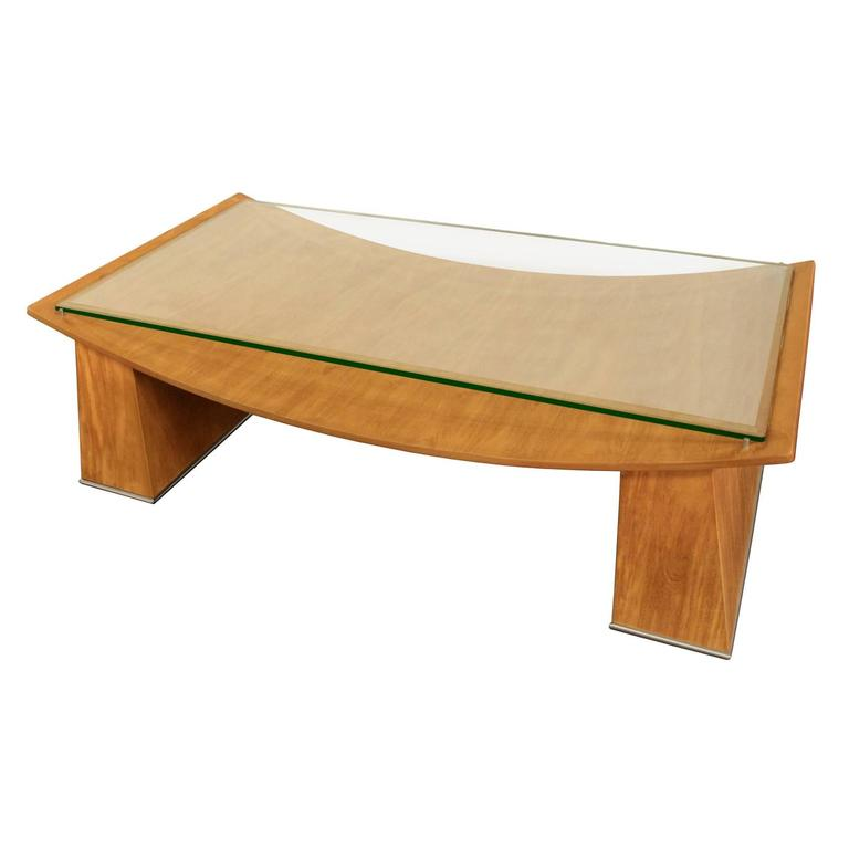 Chic Large Coffee Table by Jay Spectre