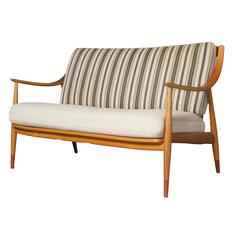 Love Seat #147 by Hvidt and Molgaard for France & Sons