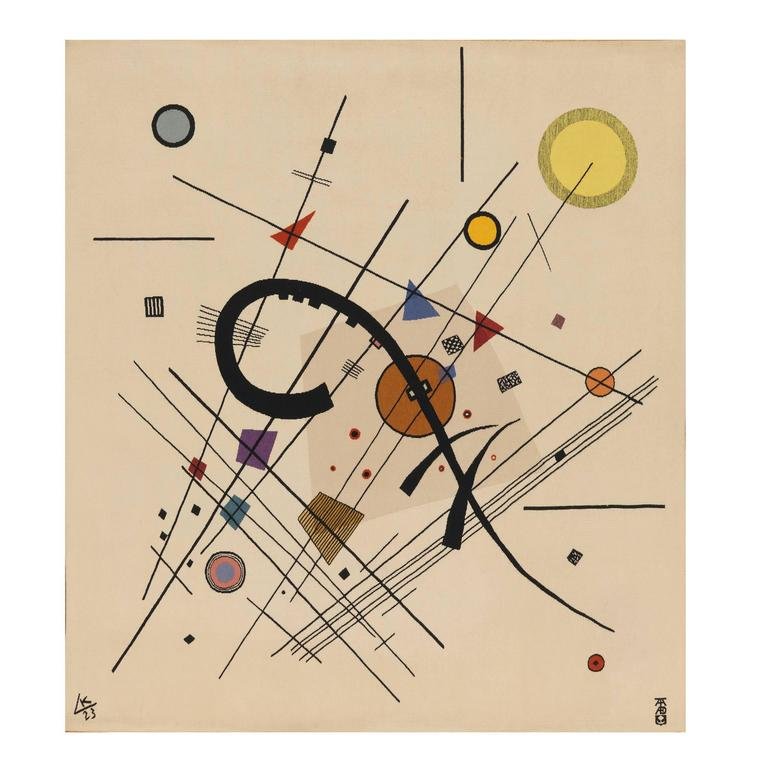 Aubusson Tapestry after Wassily Kandinsky